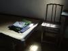 la chaise et le lit du grand homme